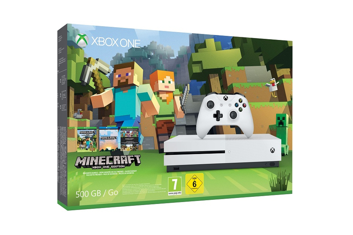 MineCraft Artık Xbox One S İle Türkiye'de