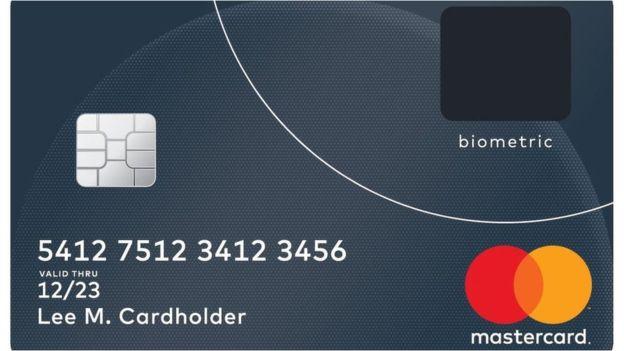 Mastercard Parmak İzi Sensörlü Kart