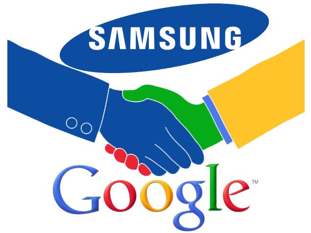 samsung ve google ortakligi