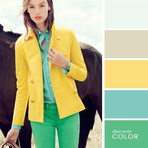 sarı ceket kombin