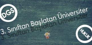 Dgs Hukuk Fakültesi 3. Sınıftan Başlatan Üniversiteler