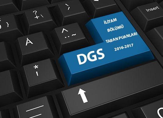DGS İlitam Bölümü Taban Puanları ve Kontenjanları 2016-2017