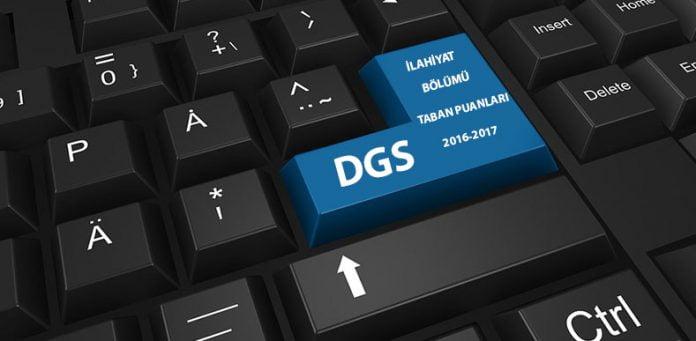 Dgs İlahiyat Bölümü Taban Puanları ve Kontenjanları