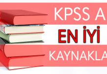 kpss a kaynak tavsiyesi 2018