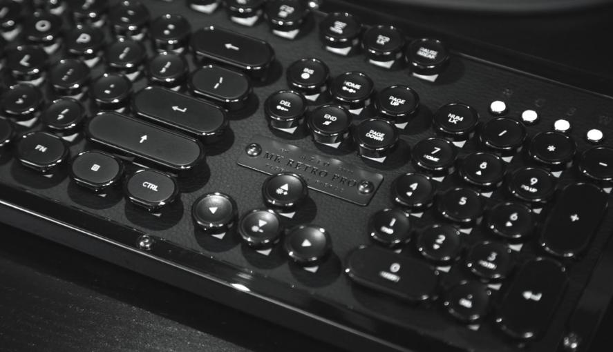 azio mekanik klavye