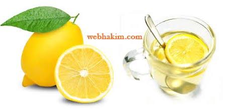 Limonlu su içmek