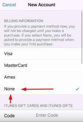 Apple Kimliği Oluşturma Kredi Kartsız