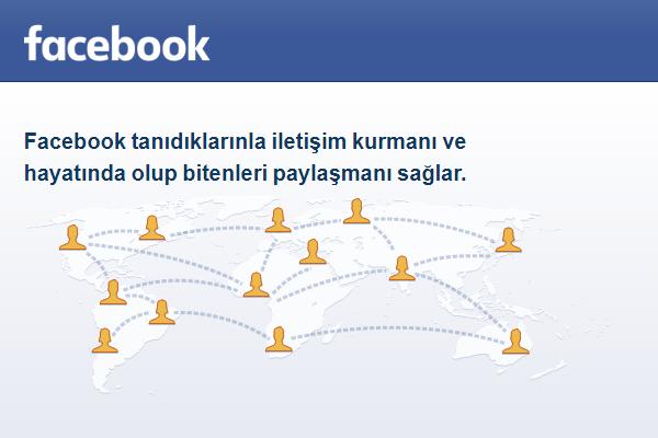 facebook açma