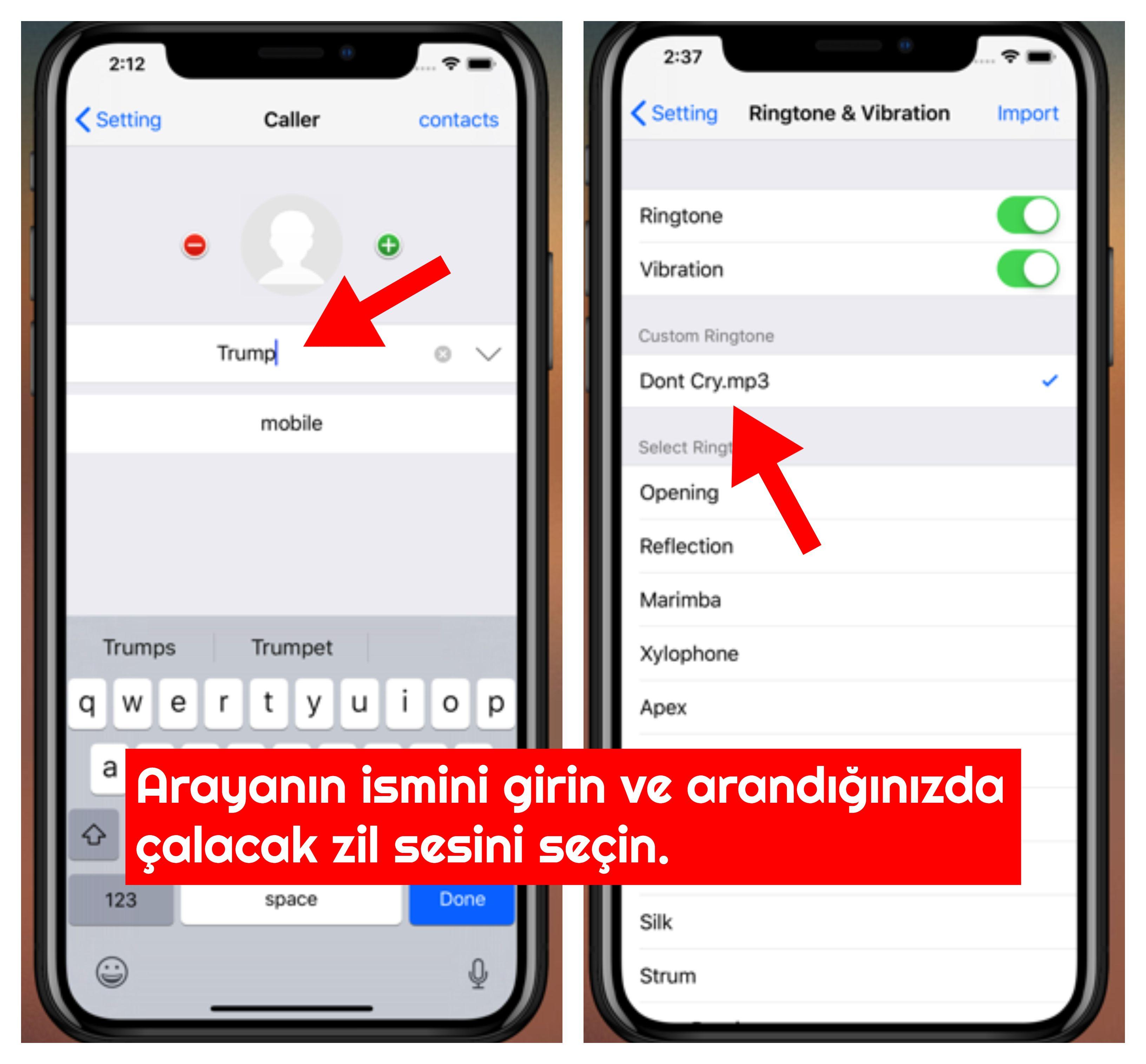iPhone Sahte Arama Yapma