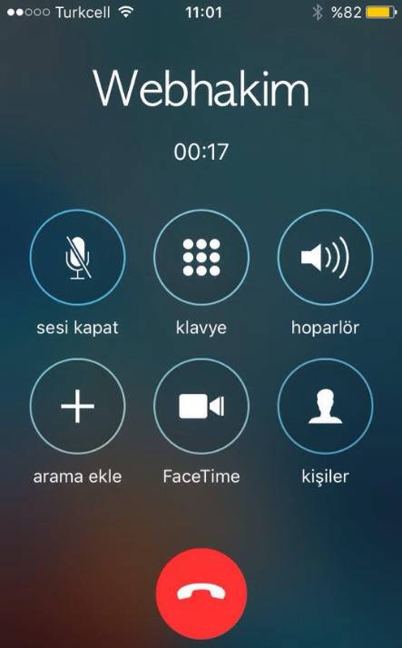 iphone sahte arama nasıl yapılır