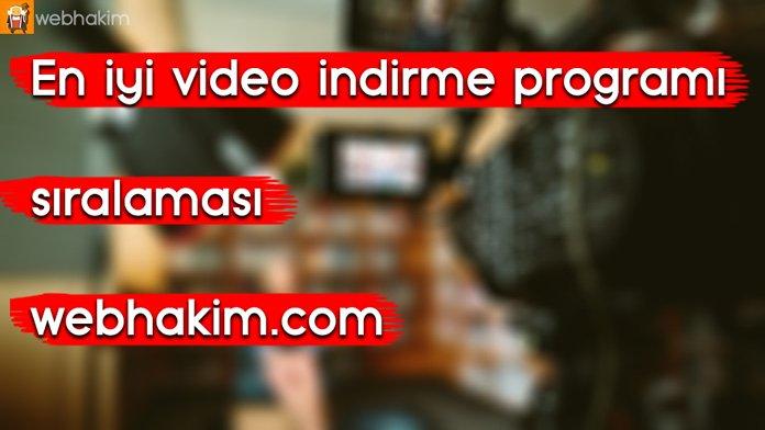 video indirme programı