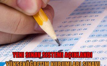 yeni sınav sistemi