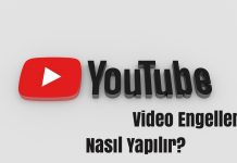youtube kanal engelleme