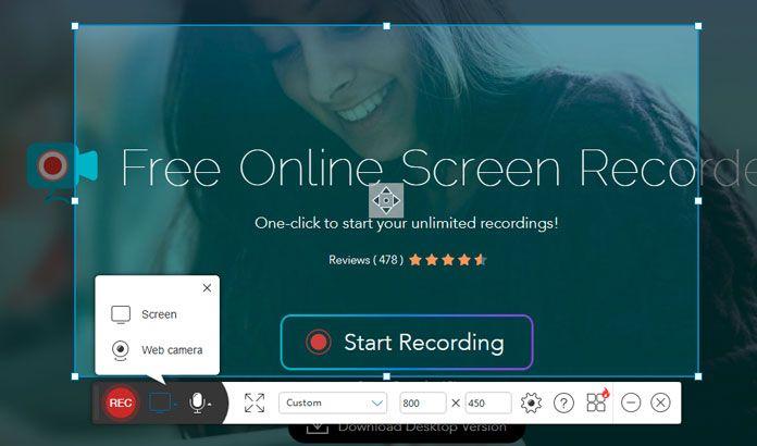 ekran video kaydedici