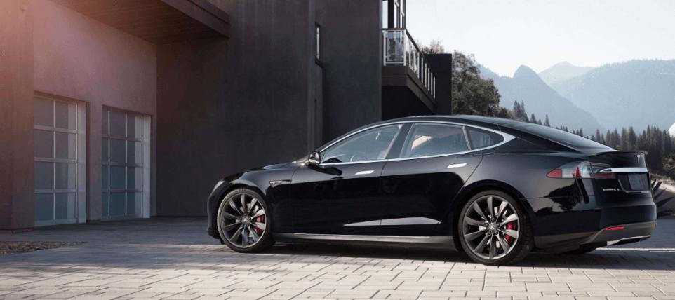 Elon musk Tesla model s