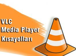 VLC Media Player Kısayol Tuşları