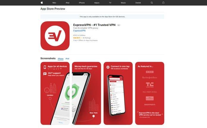 iphone vpn ücretsiz