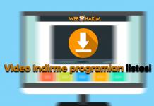 video indirme programları listesi