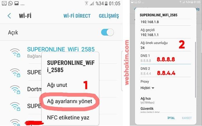 Mobil PUBG internet hatası