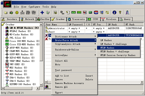 windows şifre kırma programları