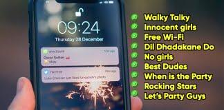 whatsapp grup isimleri 2018