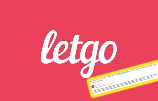 Letgo Hesap İnceleme Altında