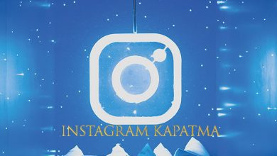 instagram kapatma