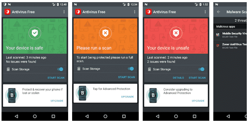 en iyi android antivirüs