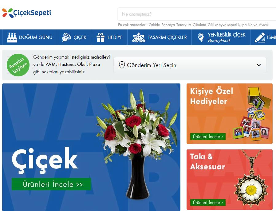 Çiçeksepeti.com güvenilir mi