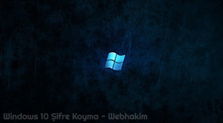bilgisayara şifre koyma