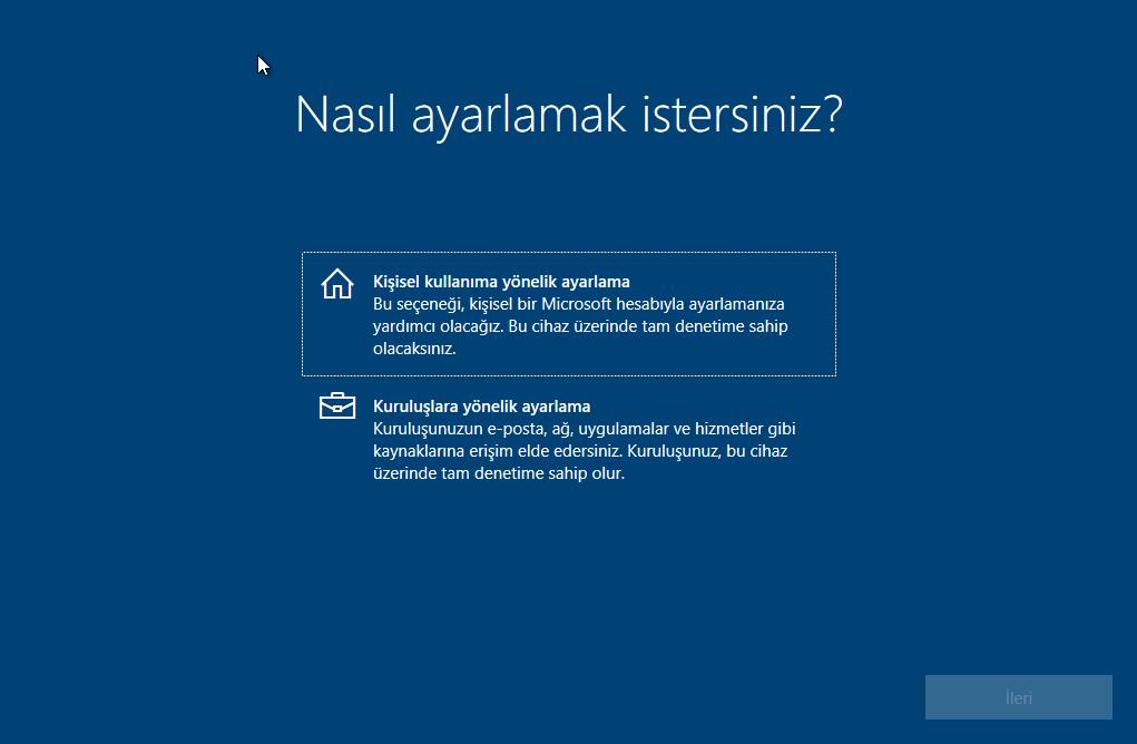 Windows 10 Format Atma