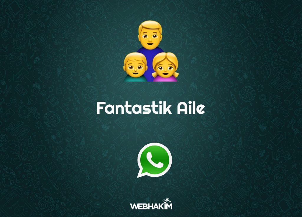 whatsapp aile grup isimleri