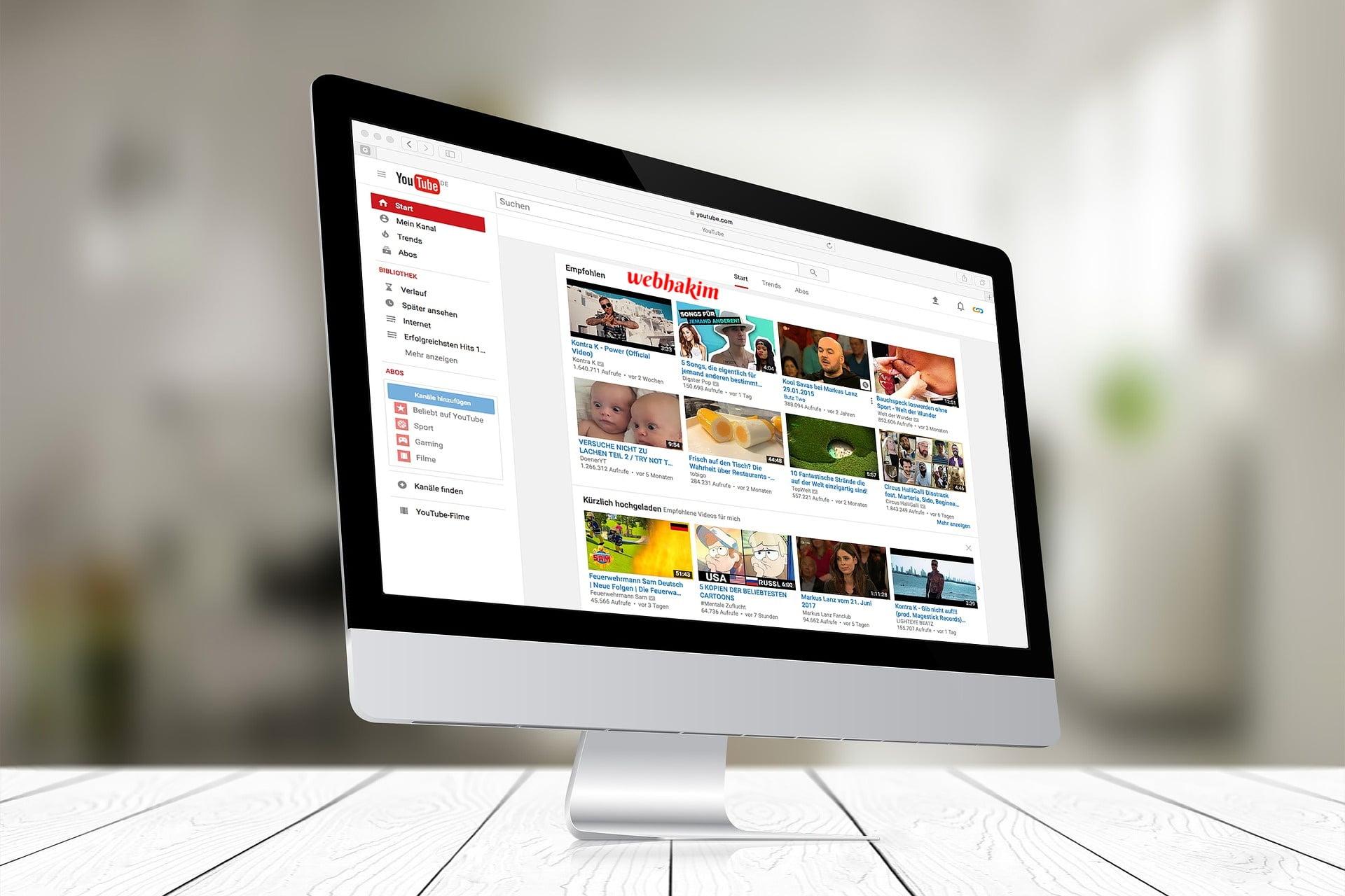 Youtube Kanal Ismi webhakim