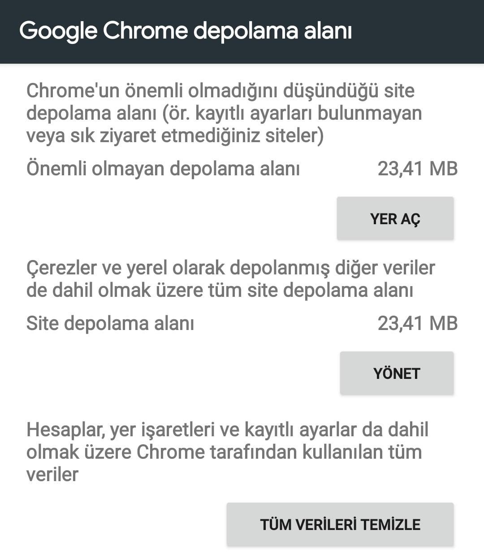 Chrome Virüs Temizleme