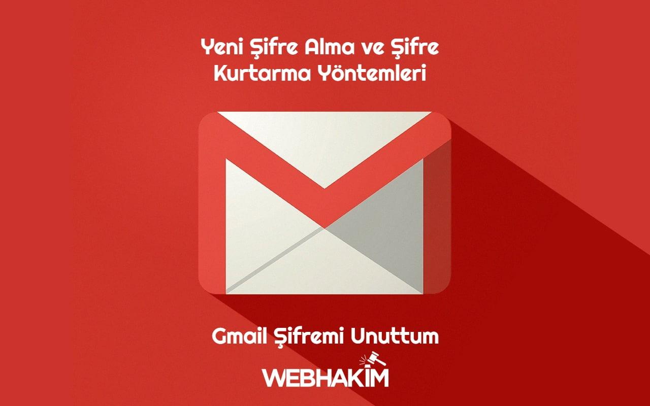 Gmail Şifremi Unuttum
