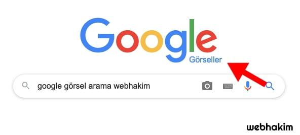 google da görsel arama webhakim