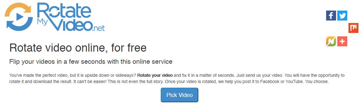 Video Döndürme