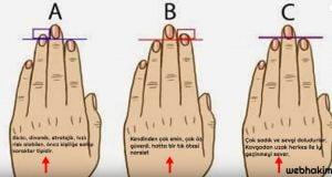 El parmak sekline gore karakter analizi webhakim