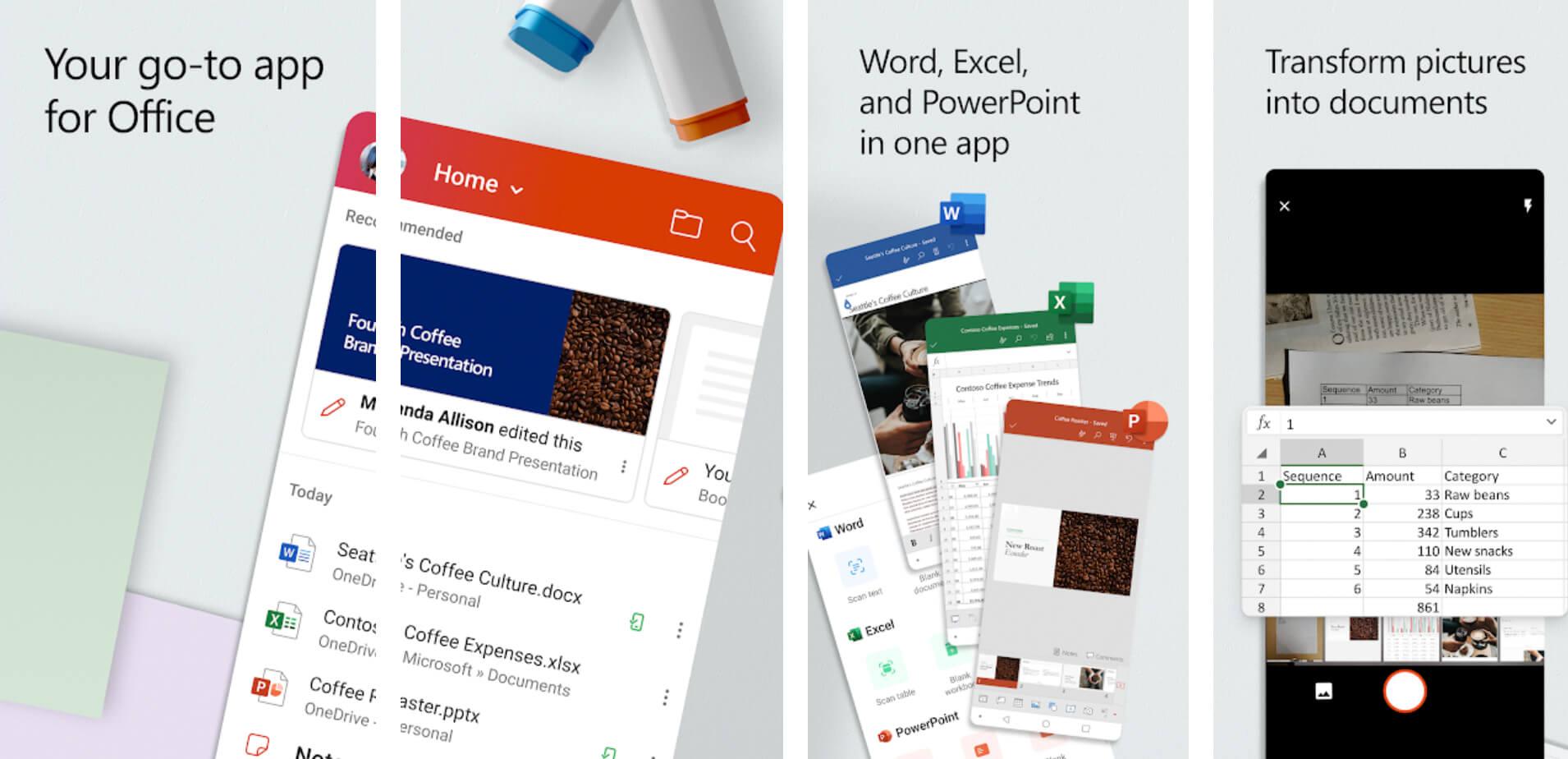 Excel, Word ve Powerpoint'i Tek Bir Uygulamada Kullanabilirsiniz