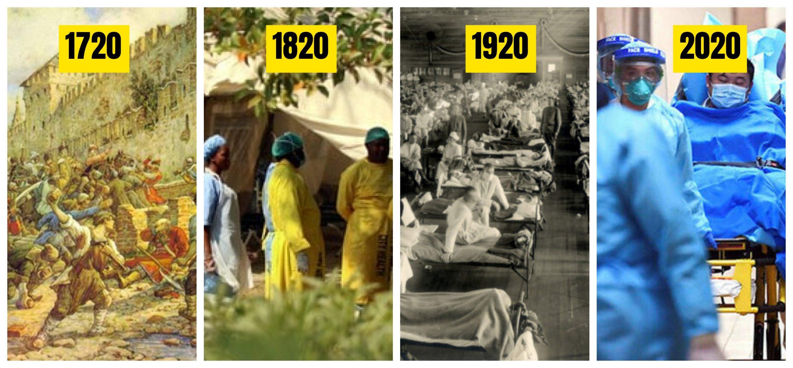 "1720, 1820, 1920 ve 2020 Tarihlere Dikkat! ""Korona Virüsü"""