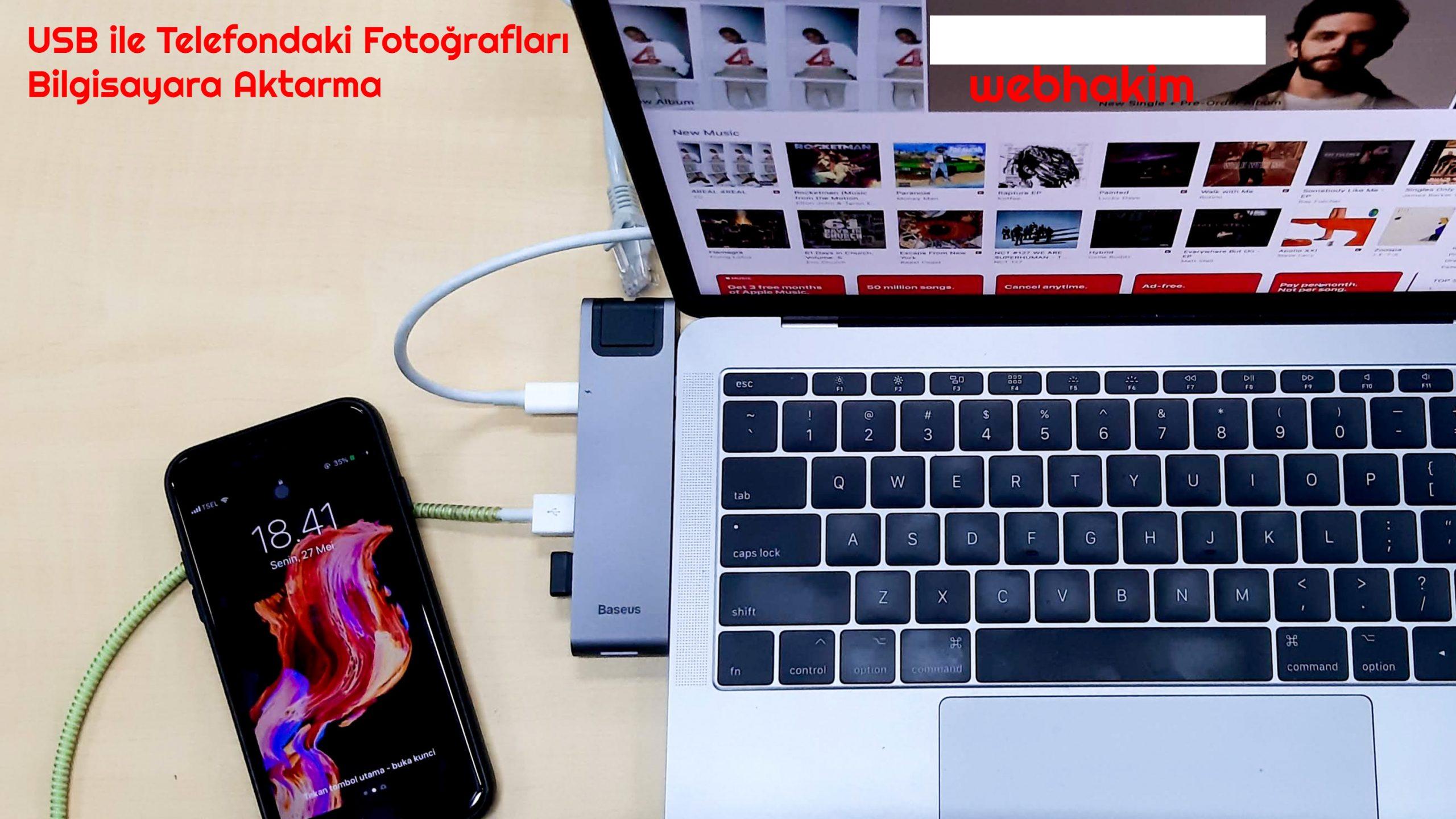telefondan bilgisayara fotoğraf aktarma programı