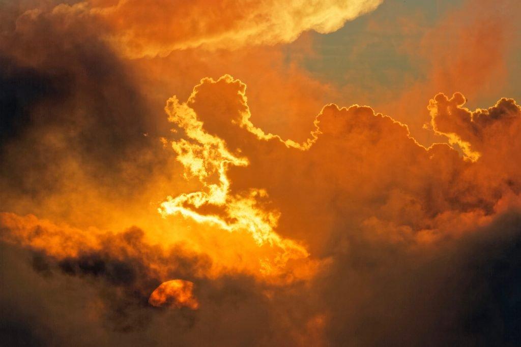 kara bulut yangin bulutu