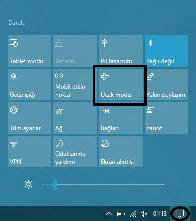 Laptop WiFi Görmüyor