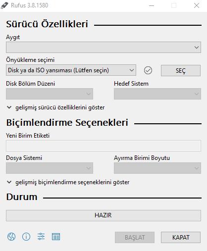 Windows 10 İso Dosyası