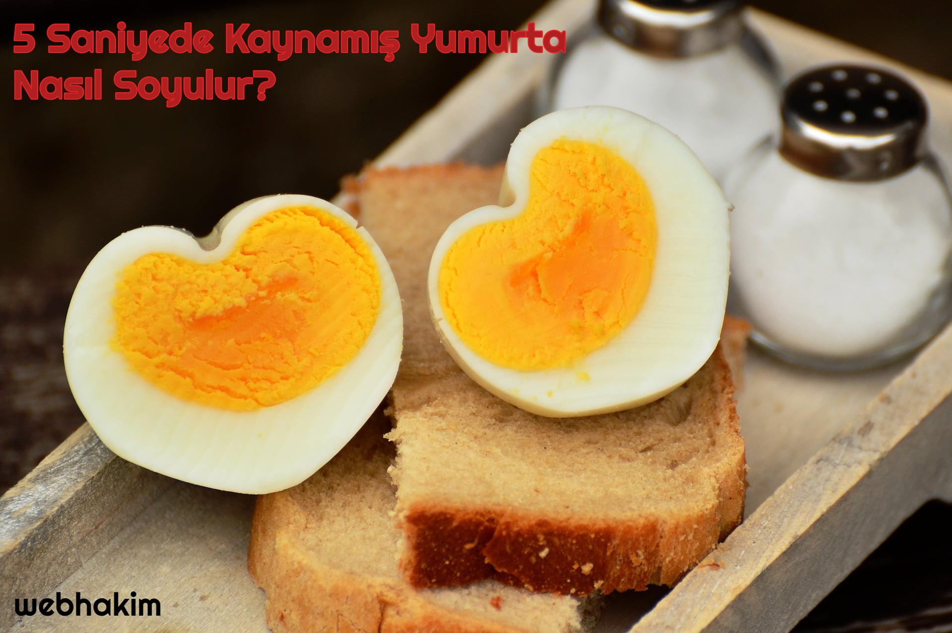 yumurta nasıl soyulur