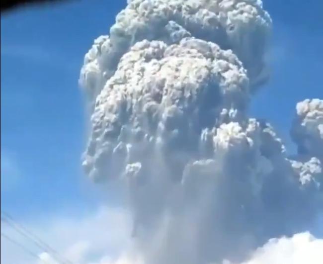 Endonezya Yanardağ Patlaması 2020 – Merapi