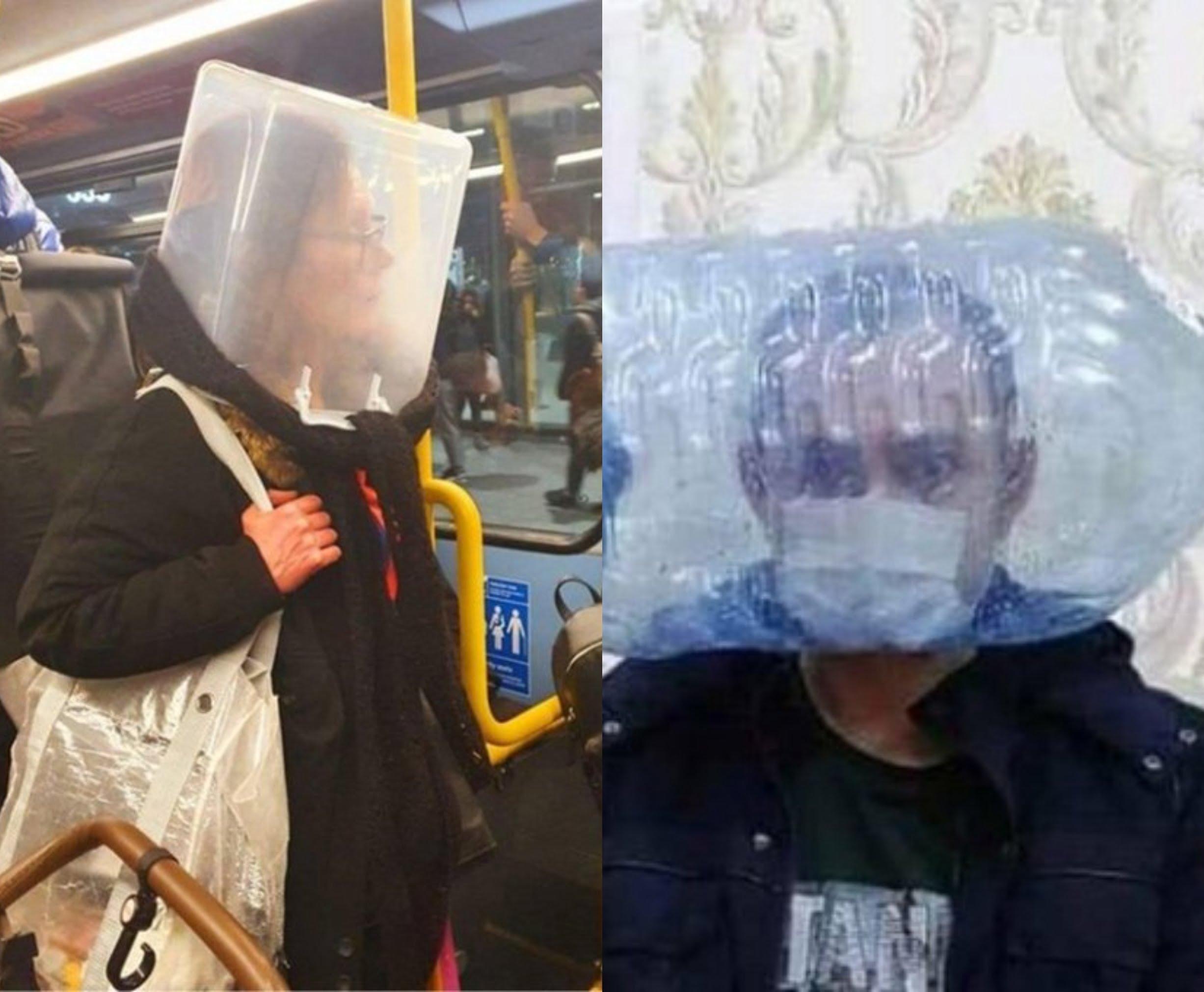 Koronavirüs Maske Fiyatları Artınca Sosyal Medya'da İlginç Maske Fikirleri Ortaya Çıktı