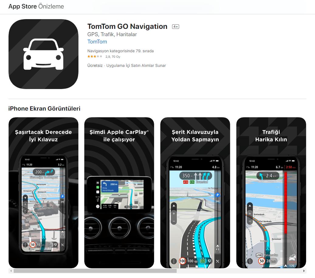 TomTom GO Mobile Navigasyon 1