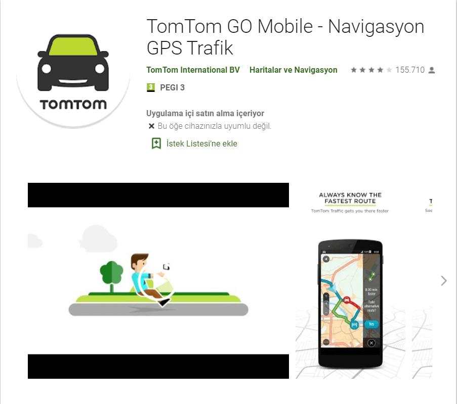 TomTom GO Mobile Navigasyon