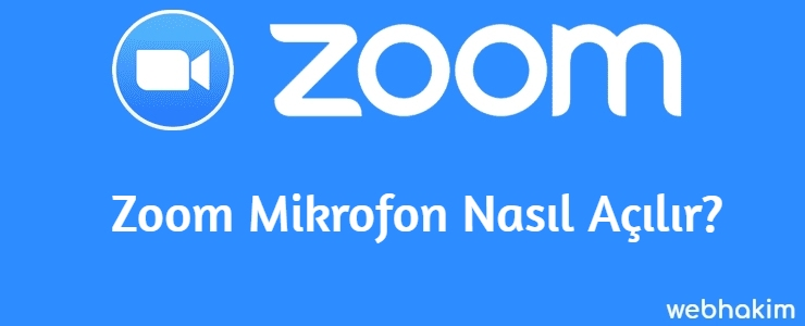 Zoom Mikrofon Nasil Acilir
